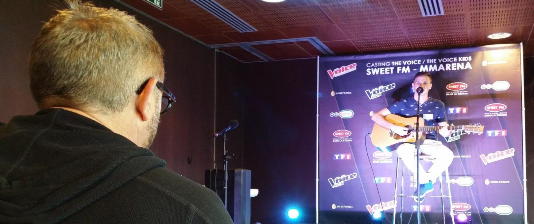 Les castings The Voice au Mans et à Blois sont de retour avec Sweet FM