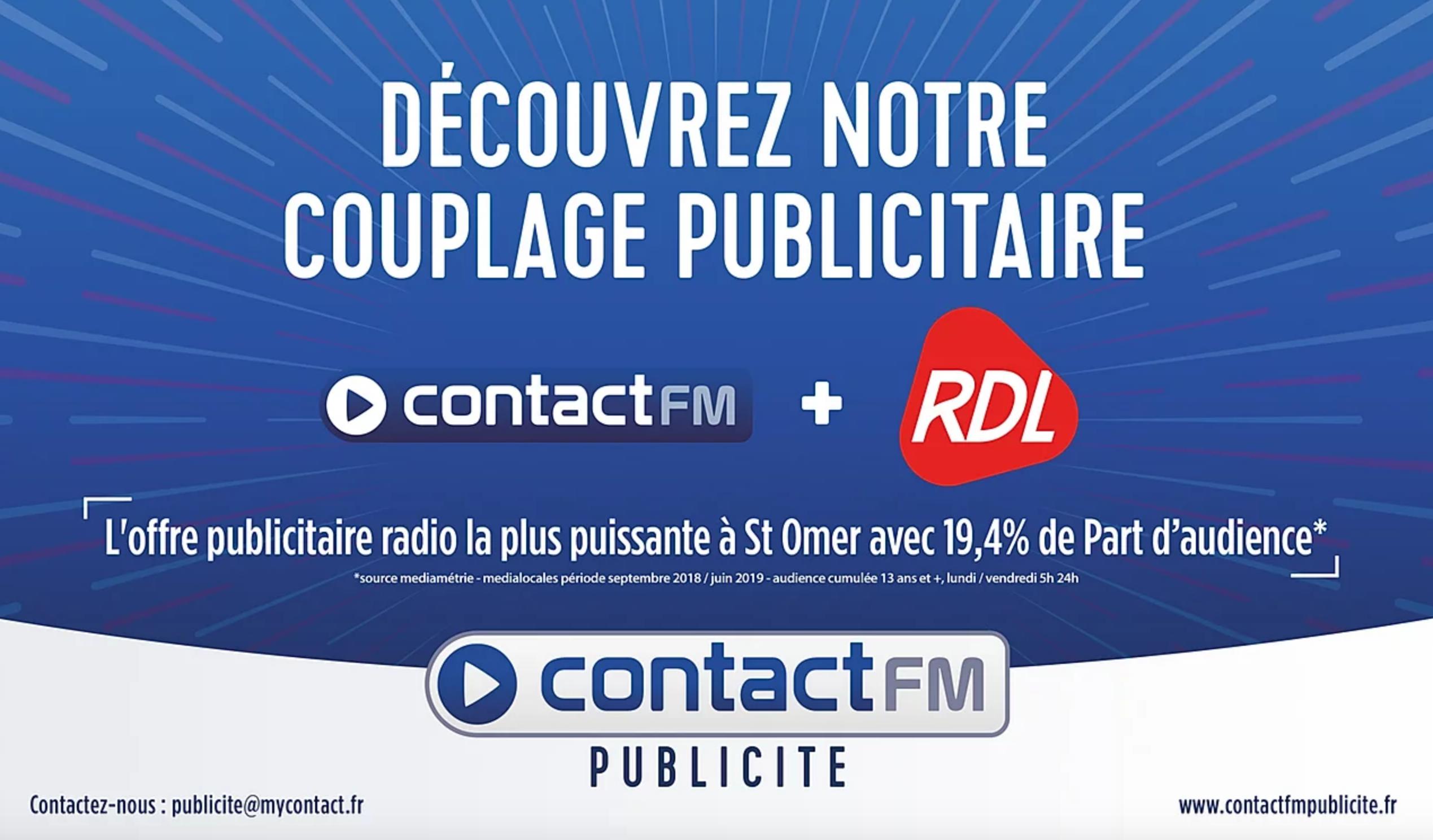 Contact FM Publicité se dote d'un site Internet