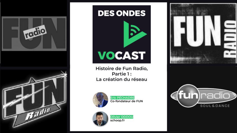 """""""Des Ondes Vocast"""" : l'histoire de Fun Radio racontée par Éric Péchadre"""