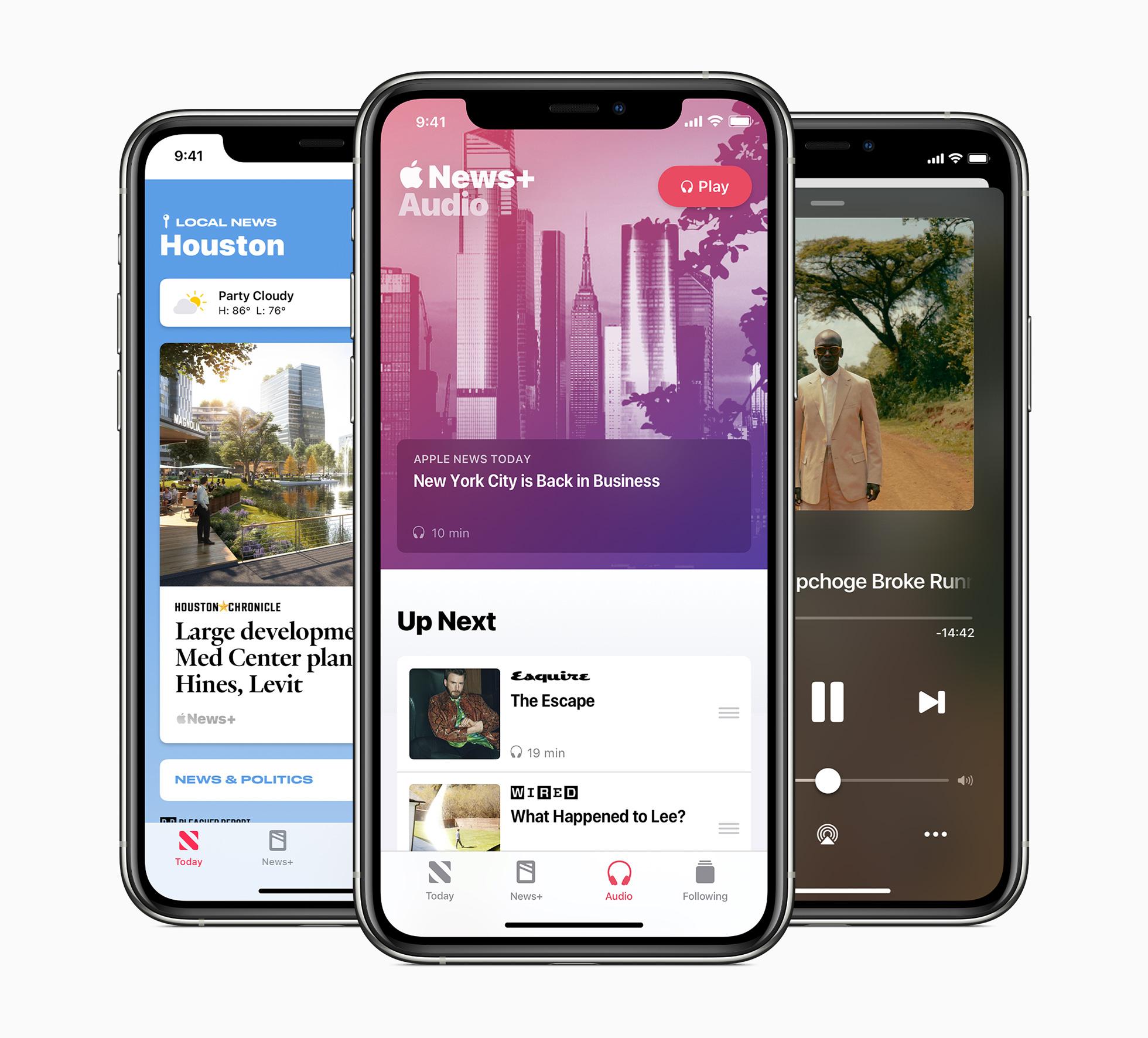 Apple lance ses podcasts et des bulletins d'infos quotidiens