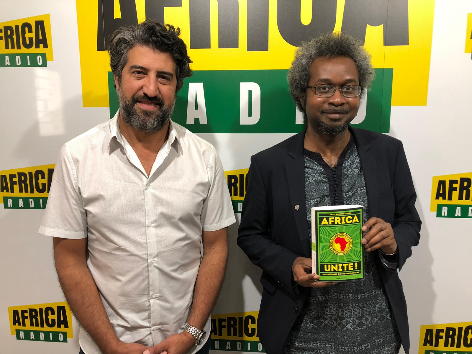 "Nadir Djennad et Amzath Boukary-Yabara auteur d ""Africa Unite"""