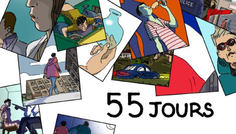 """""""55 jours"""" : le premier roman‐feuilleton de franceinfo et Casterman"""
