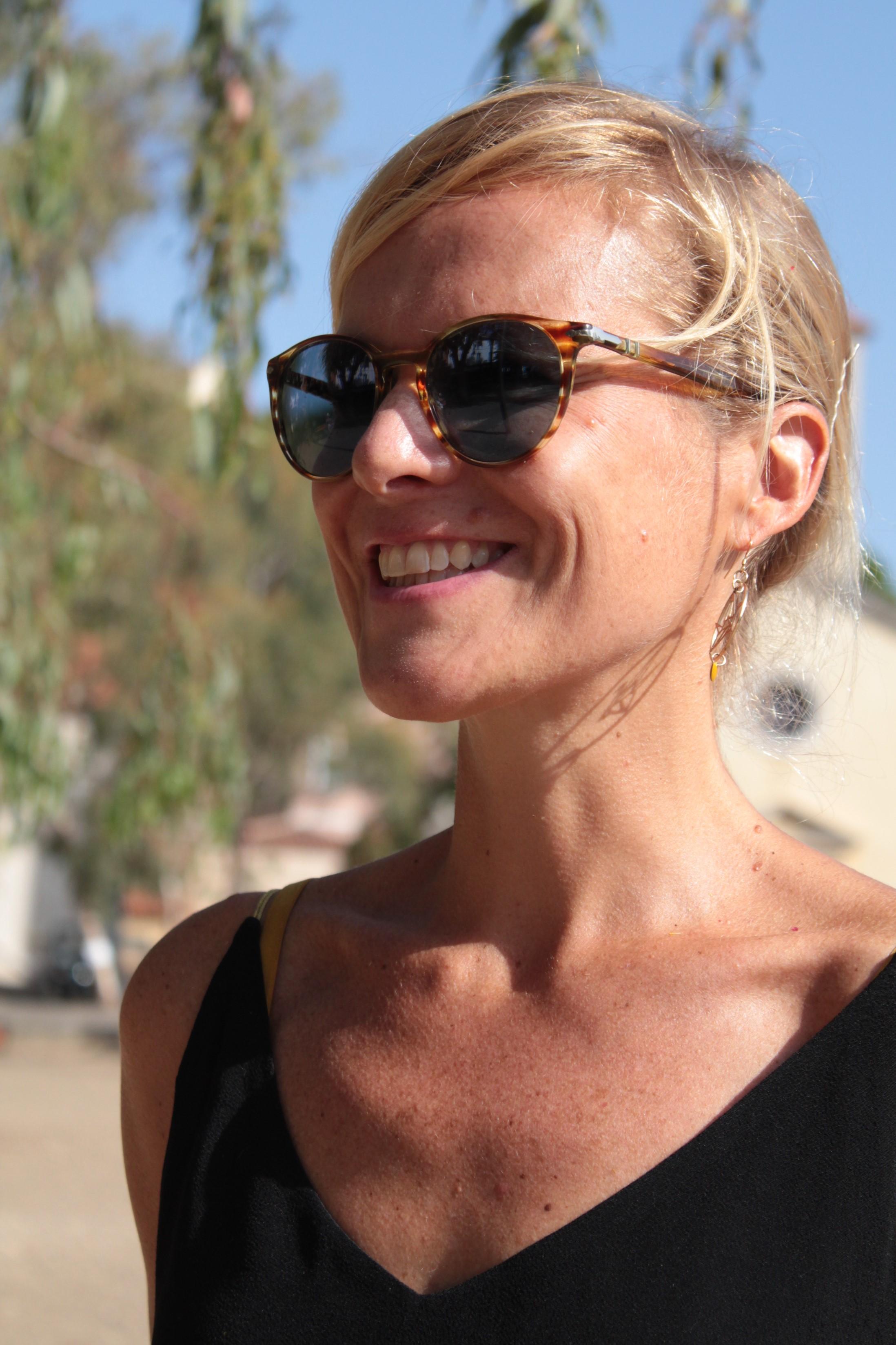 Ingrid Blanchard, mordue de Porquerolles, s'engage pour faire découvrir l'île et ses enjeux. © D.R.