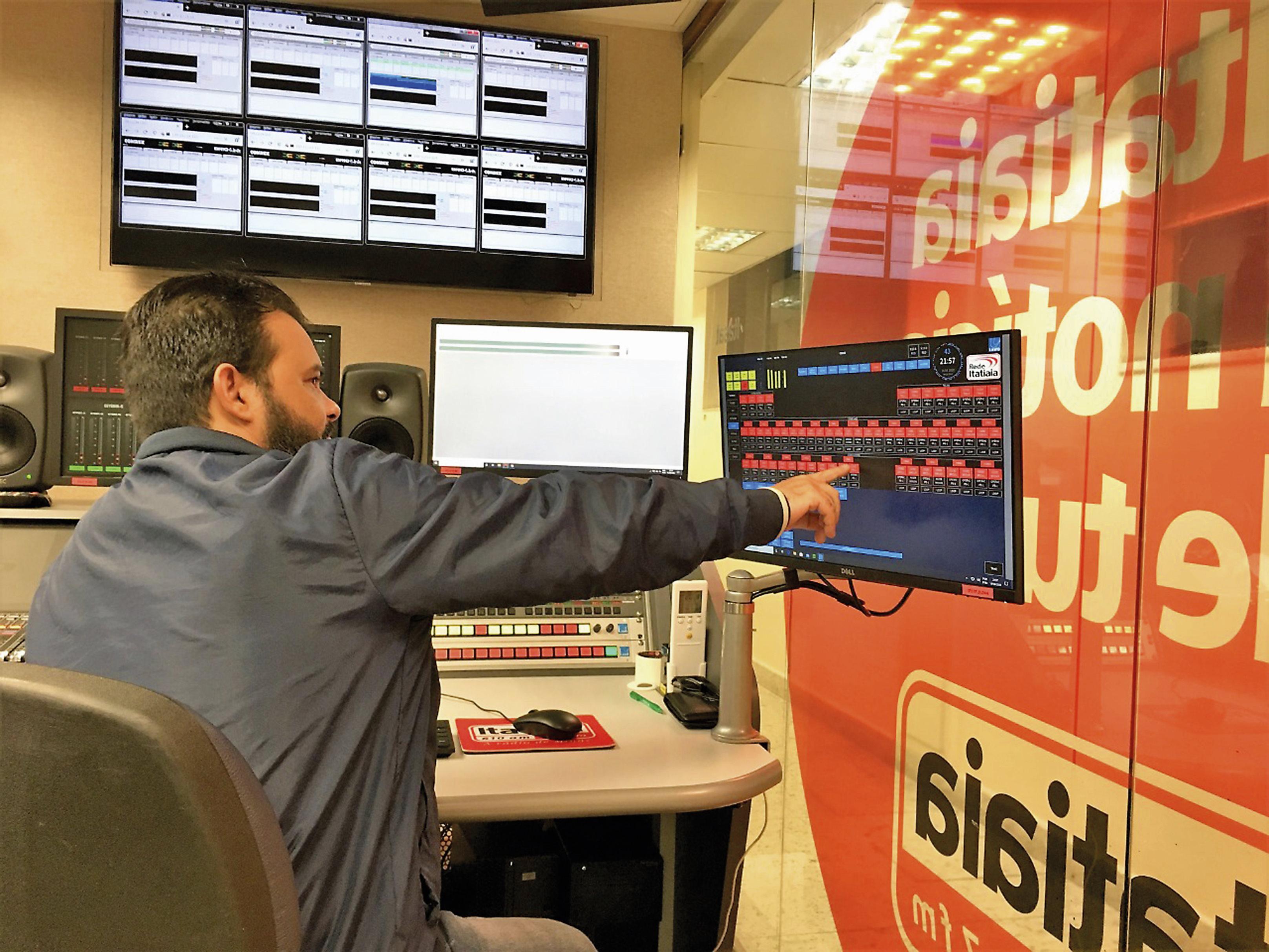 La technologie de routage Lawo choisie par Rádio Itatiaia au Brésil