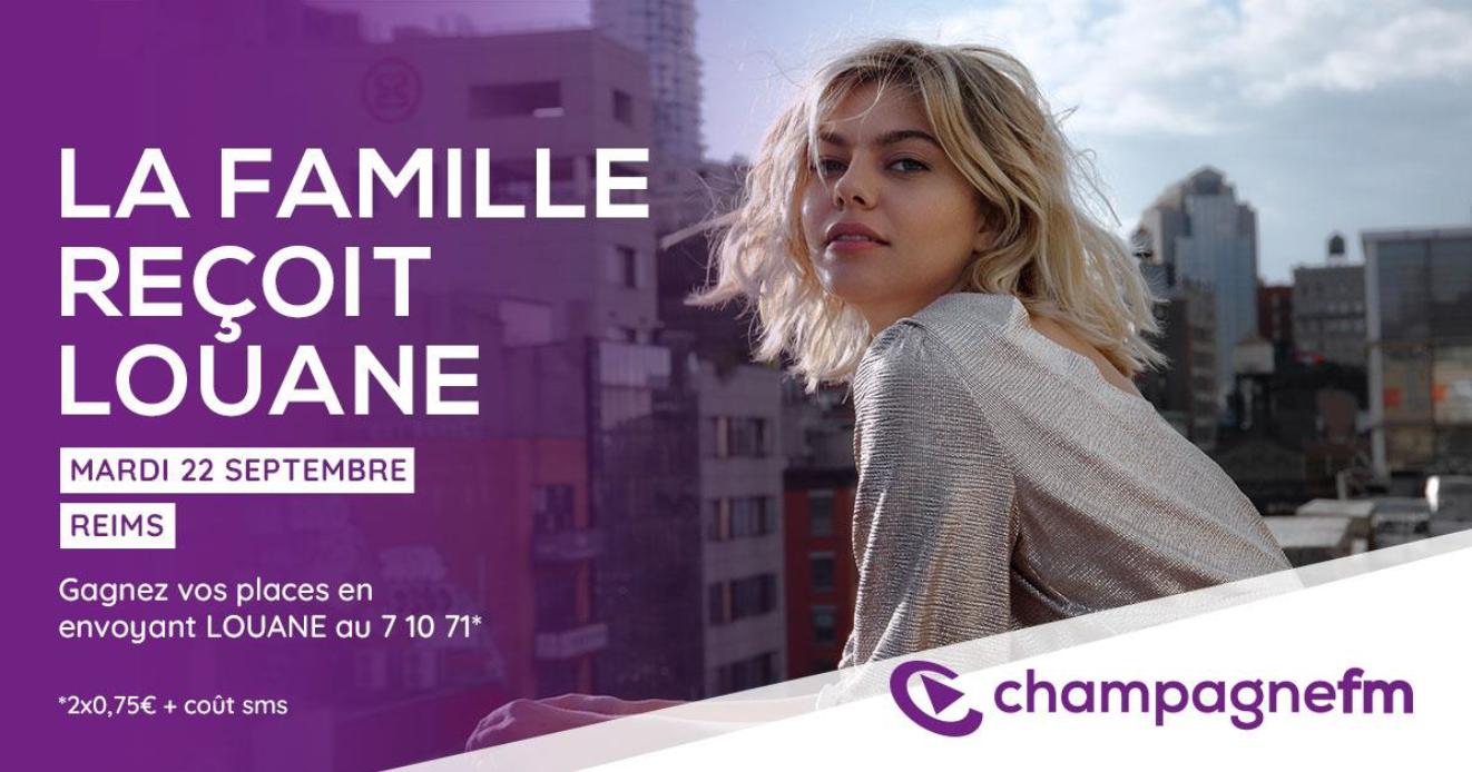 Champagne FM accueille la chanteuse Louane
