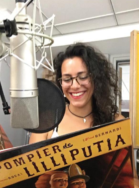 """Sonia Marcotte lit """"Le Pompier de Lilliputia"""""""