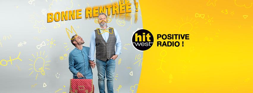 """Hit West se positionne comme la """"Positive Radio"""""""