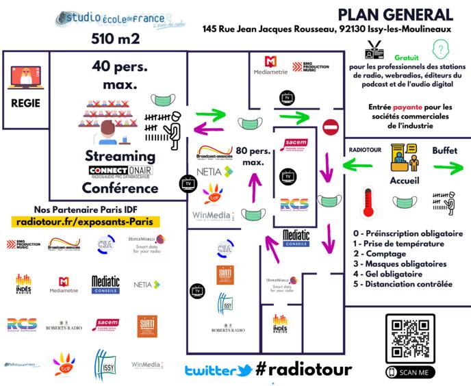 Inscrivez-vous pour assister au RadioTour au Studec