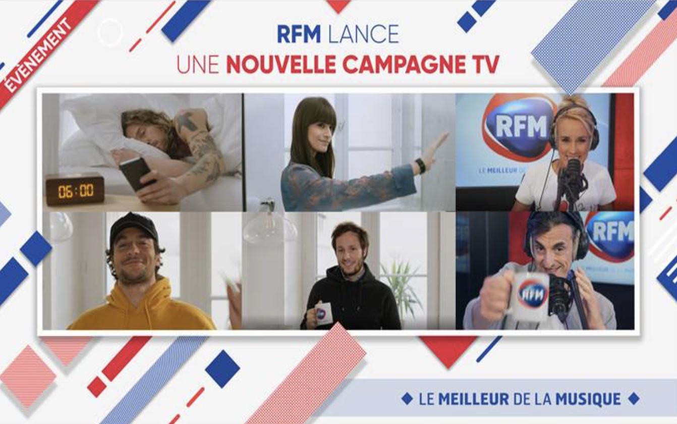 RFM lance une nouvelle campagne TV