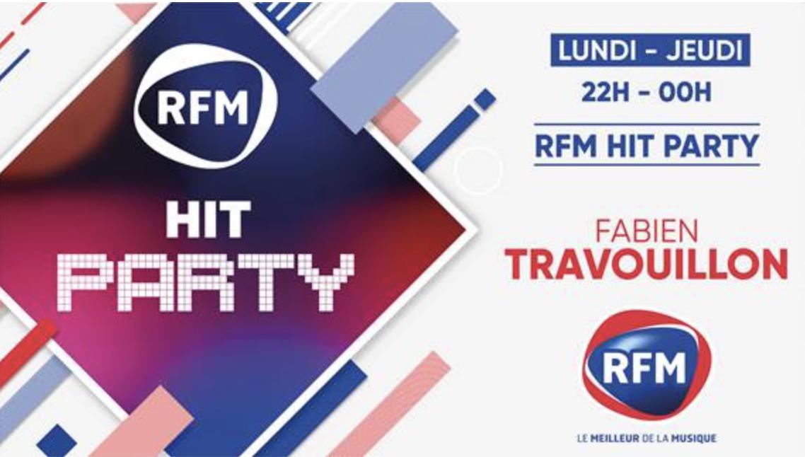 """""""RFM Hit Party"""" : une nouvelle émission sur RFM"""