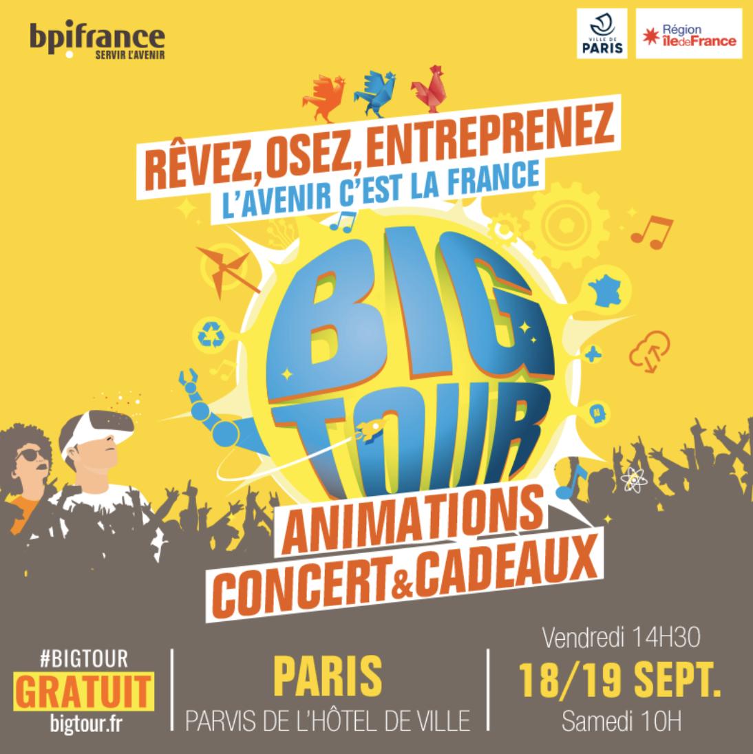 """Radio FG au """"Big Tour"""" à Paris"""
