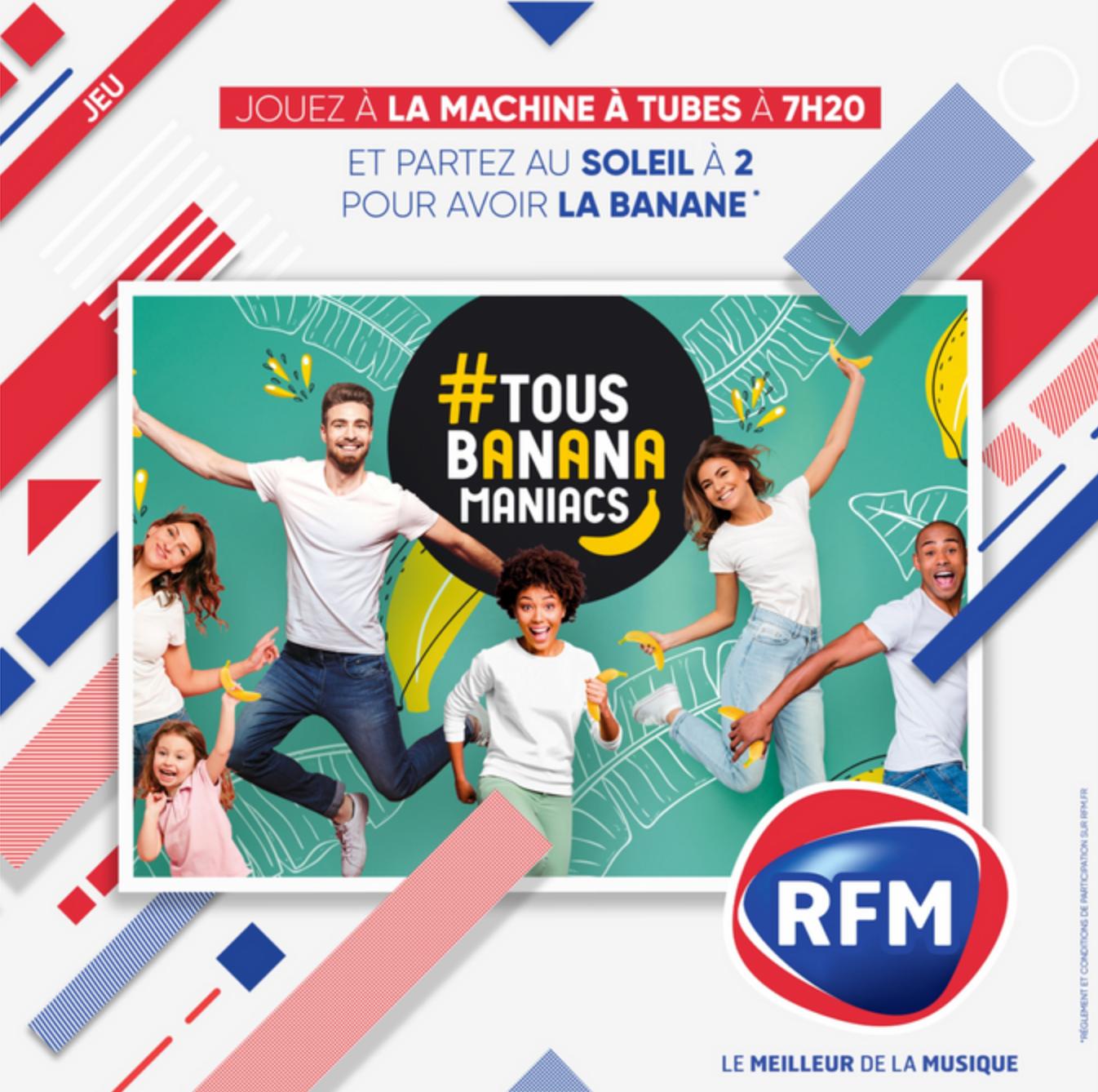 RFM donne la banane aux auditeurs