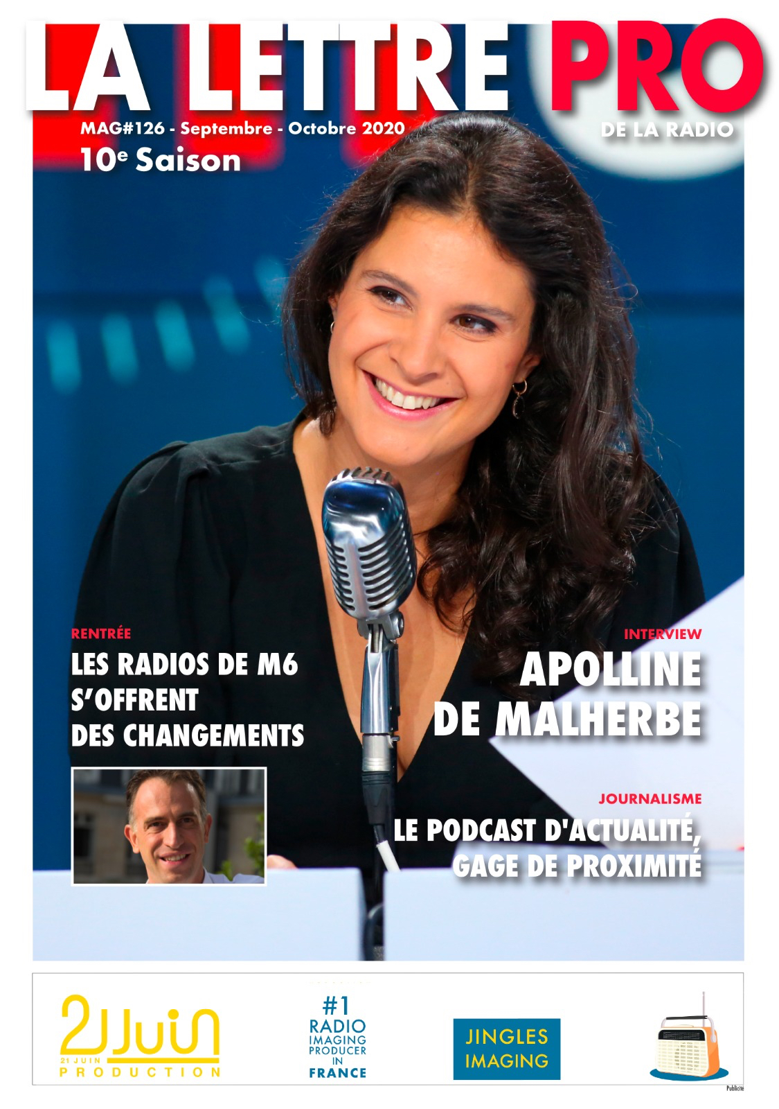 Téléchargez le 126e numéro de La Lettre Pro de la Radio