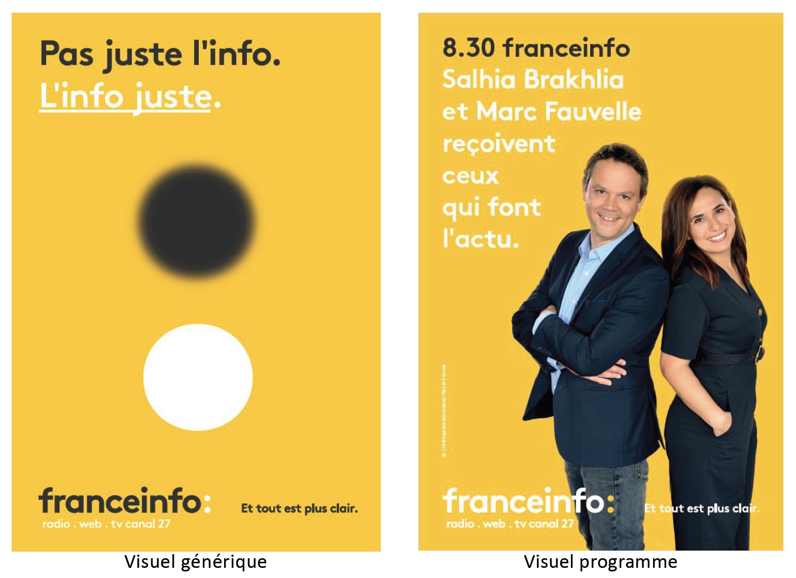 franceinfo engage une nouvelle campagne publicitaire