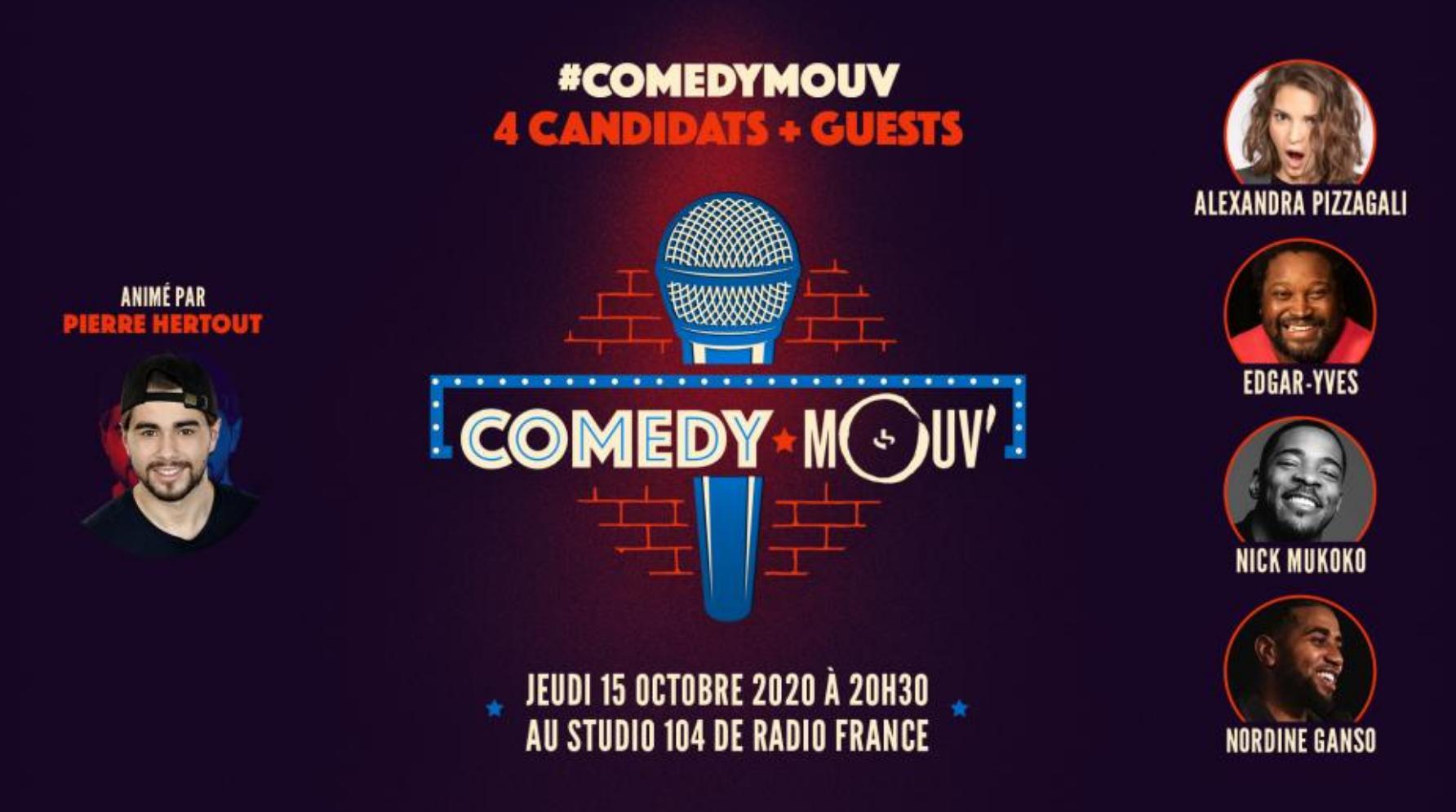 Mouv' propose une nouvelle édition de Comedy Mouv'