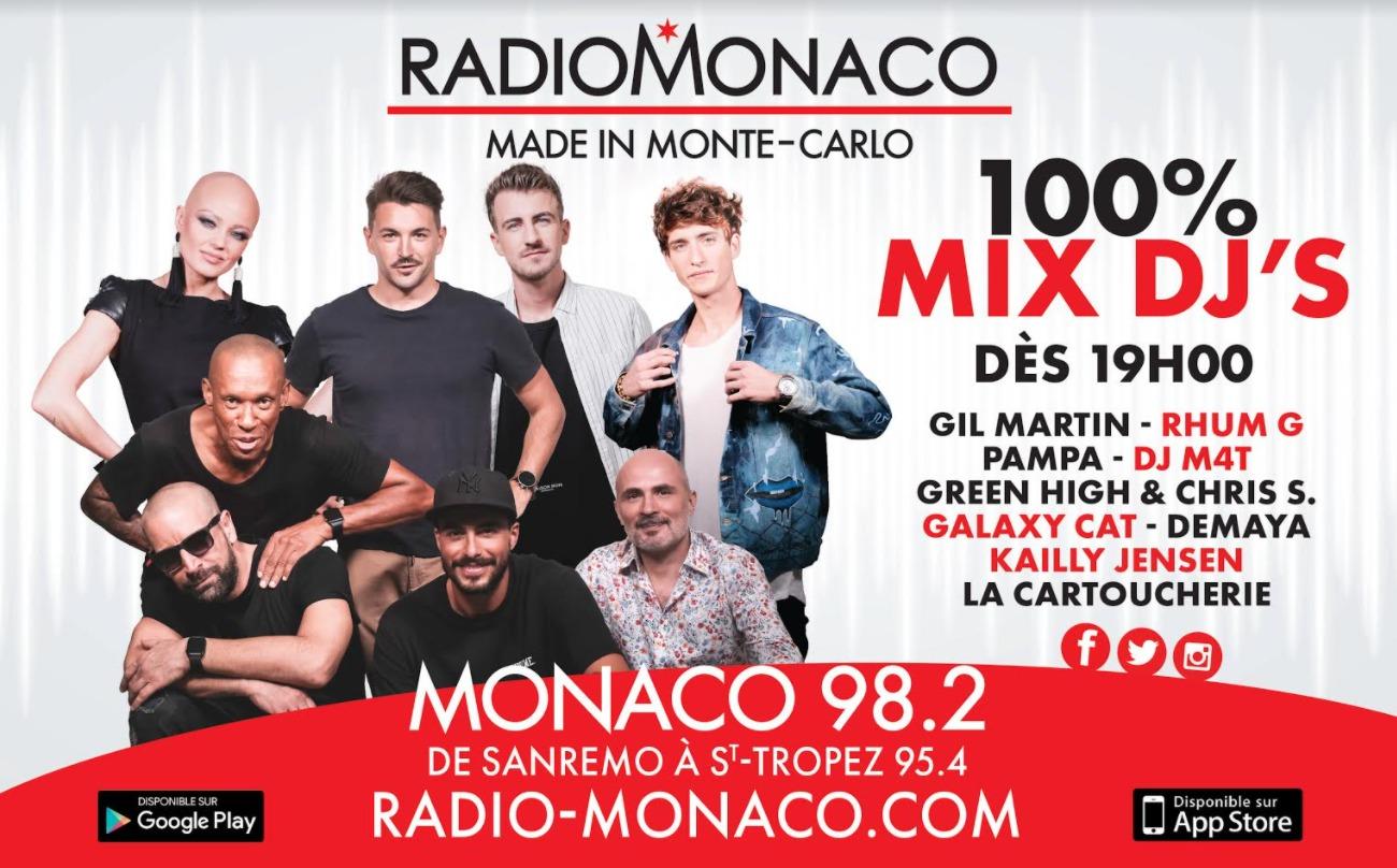 Radio Monaco s'affiche dans les rues de Monaco