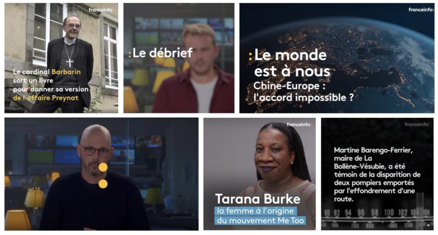 franceinfo :  l'actu se prolonge en images  sur les réseaux sociaux