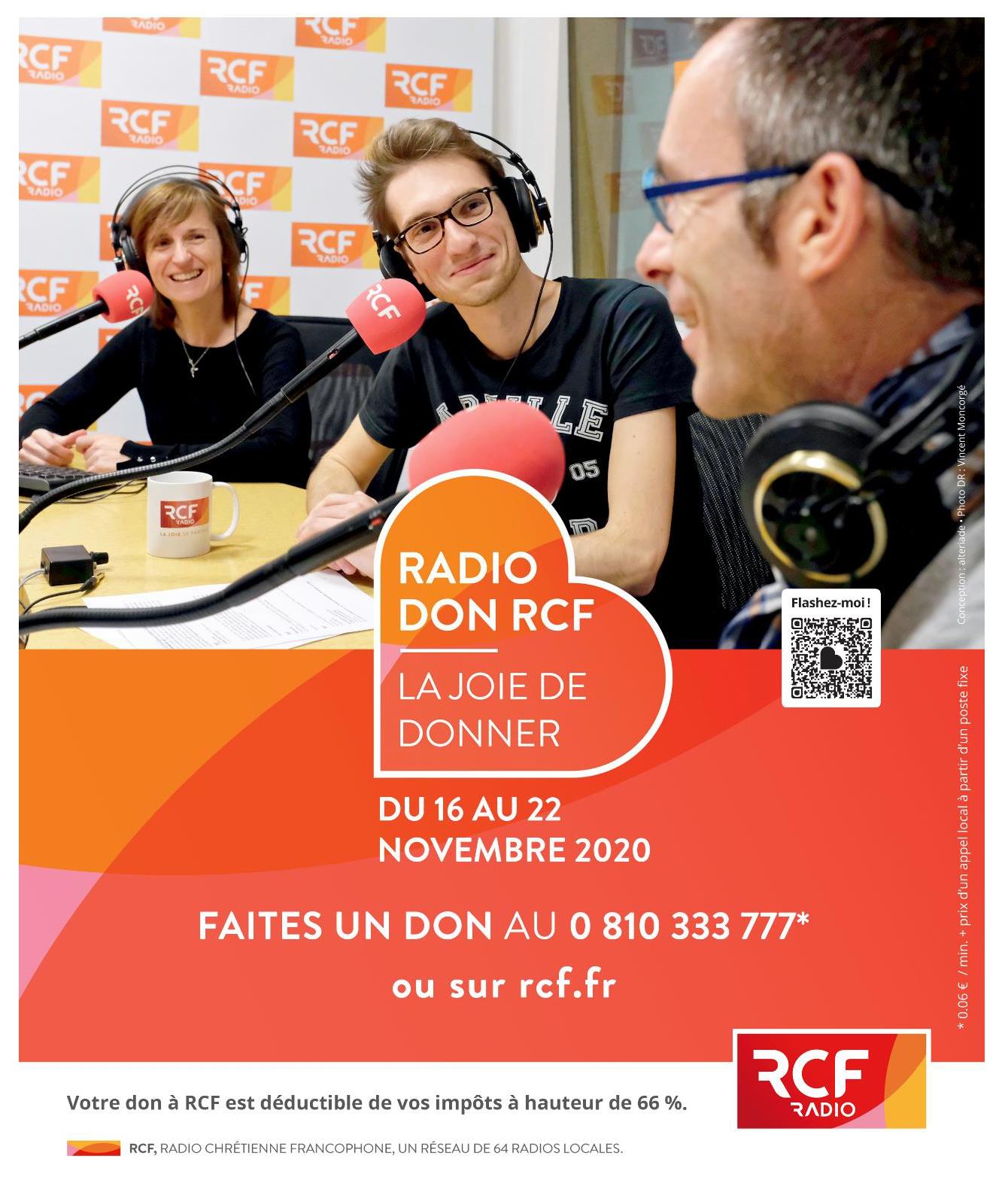 RCF prépare un nouveau RadioDon