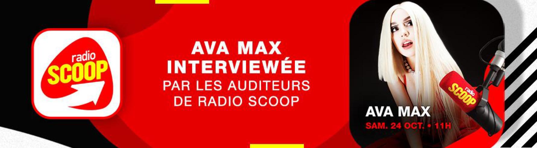Radio Scoop organise une semaine spéciale Ava Max
