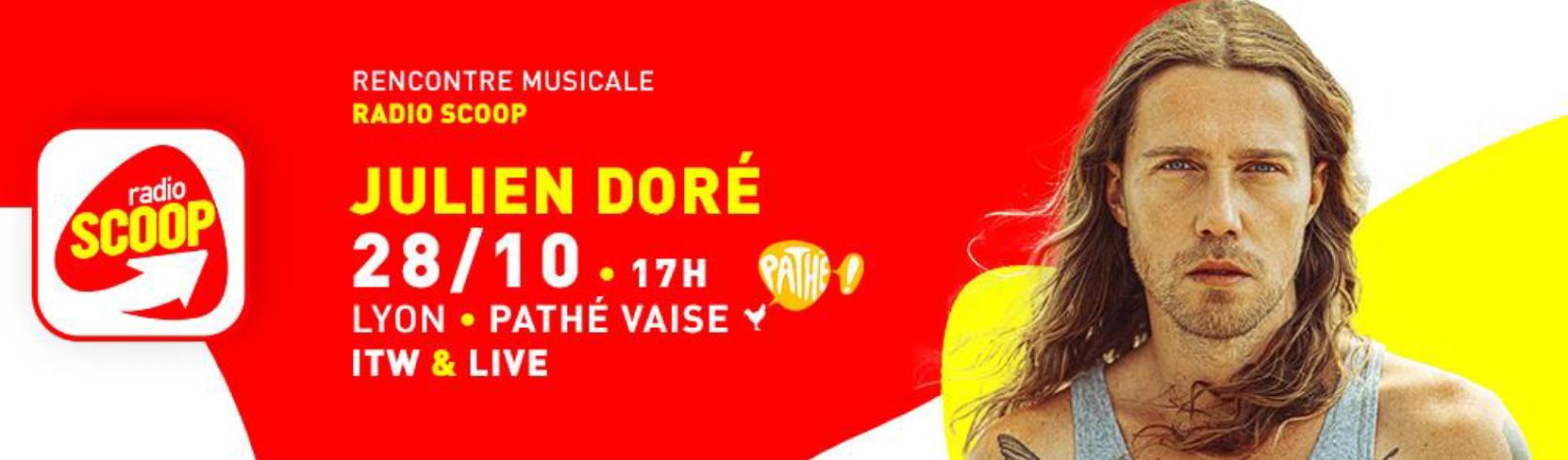 Radio Scoop reçoit Julien Doré
