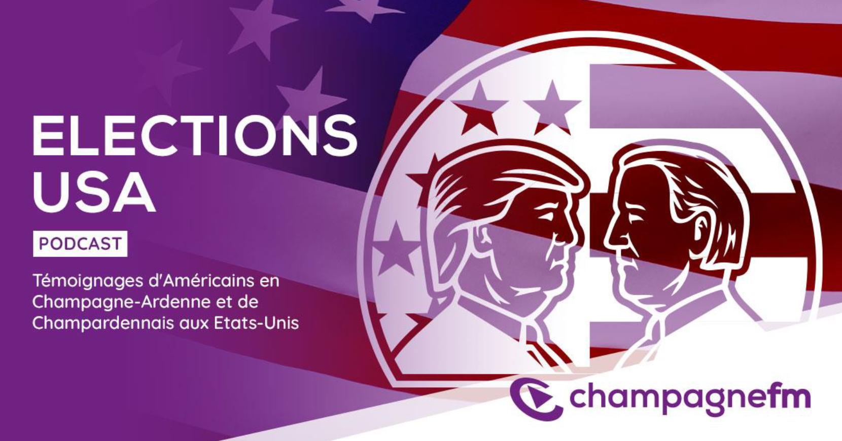 Champagne FM : un podcast sur l'élection américaine