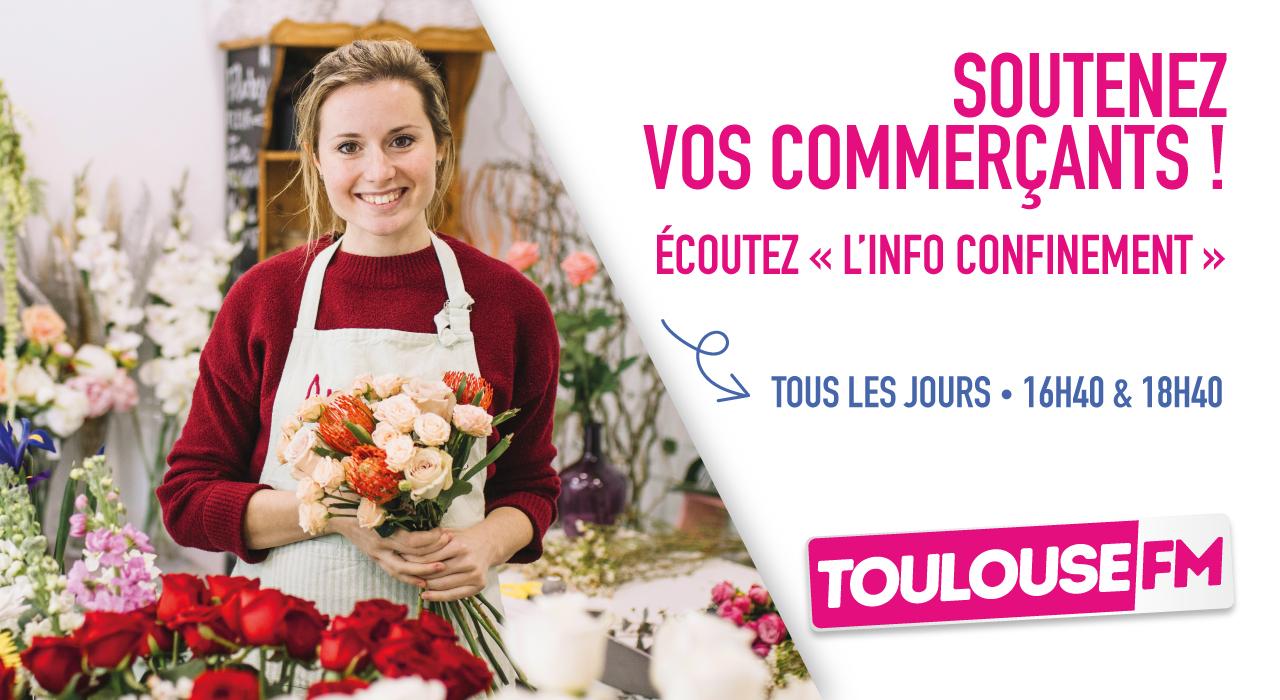 Toulouse FM donne la parole aux commerçants locaux