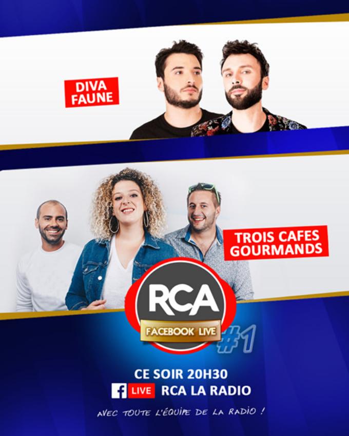 Ce soir, RCA en Facebook Live dès 20h30