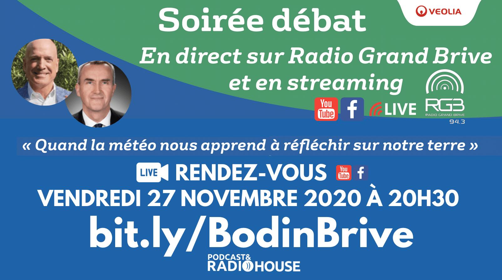 Louis Bodin en direct depuis la Podcast & Radio House