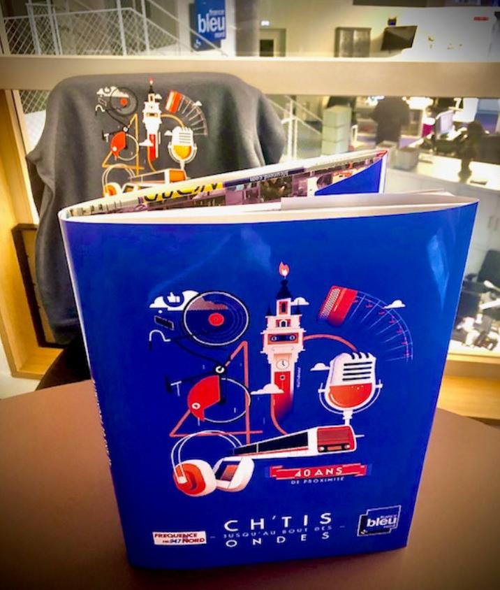 Un livre pour les 40 ans de France Bleu Nord
