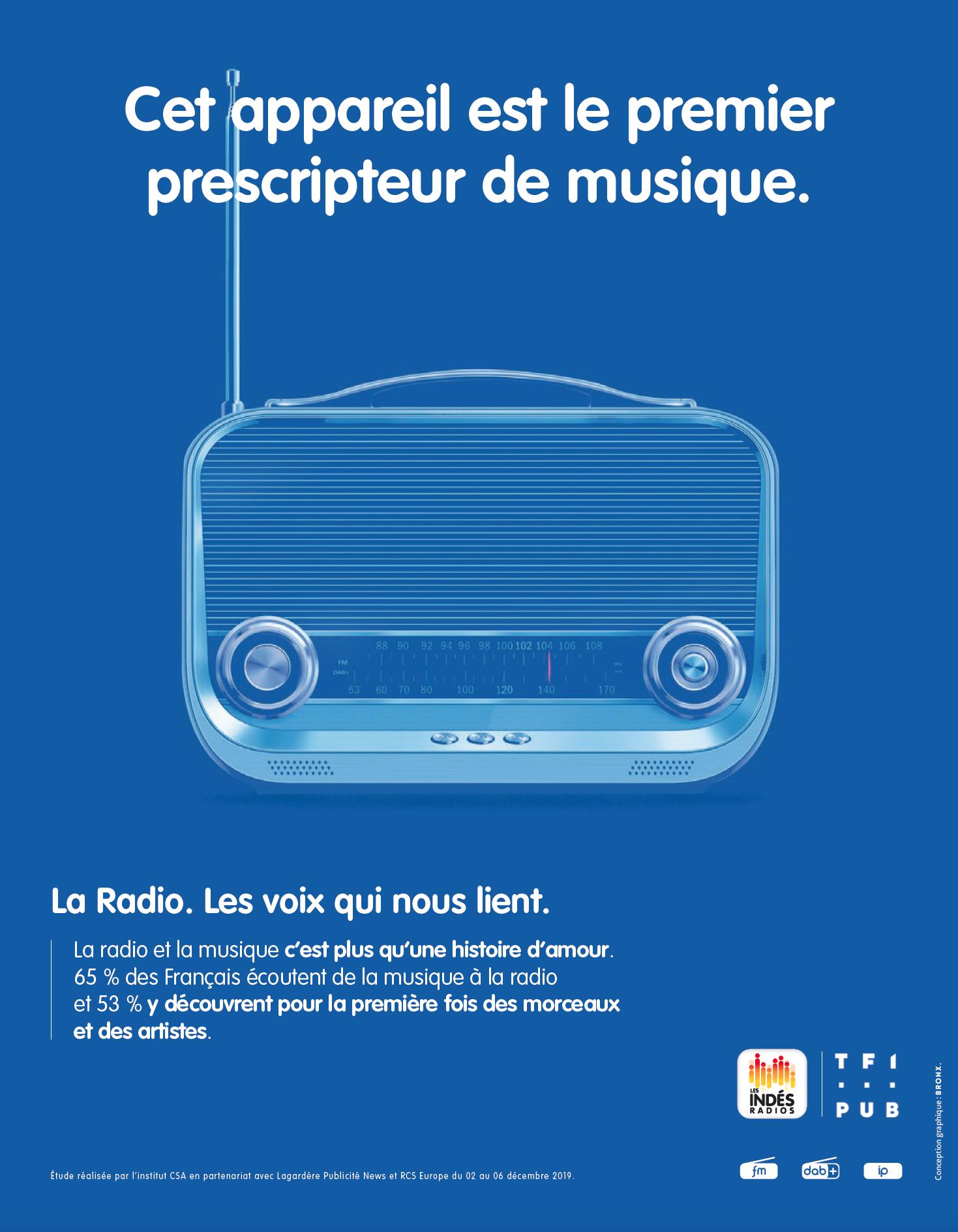 Les Indés Radios en campagne pour promouvoir la radio