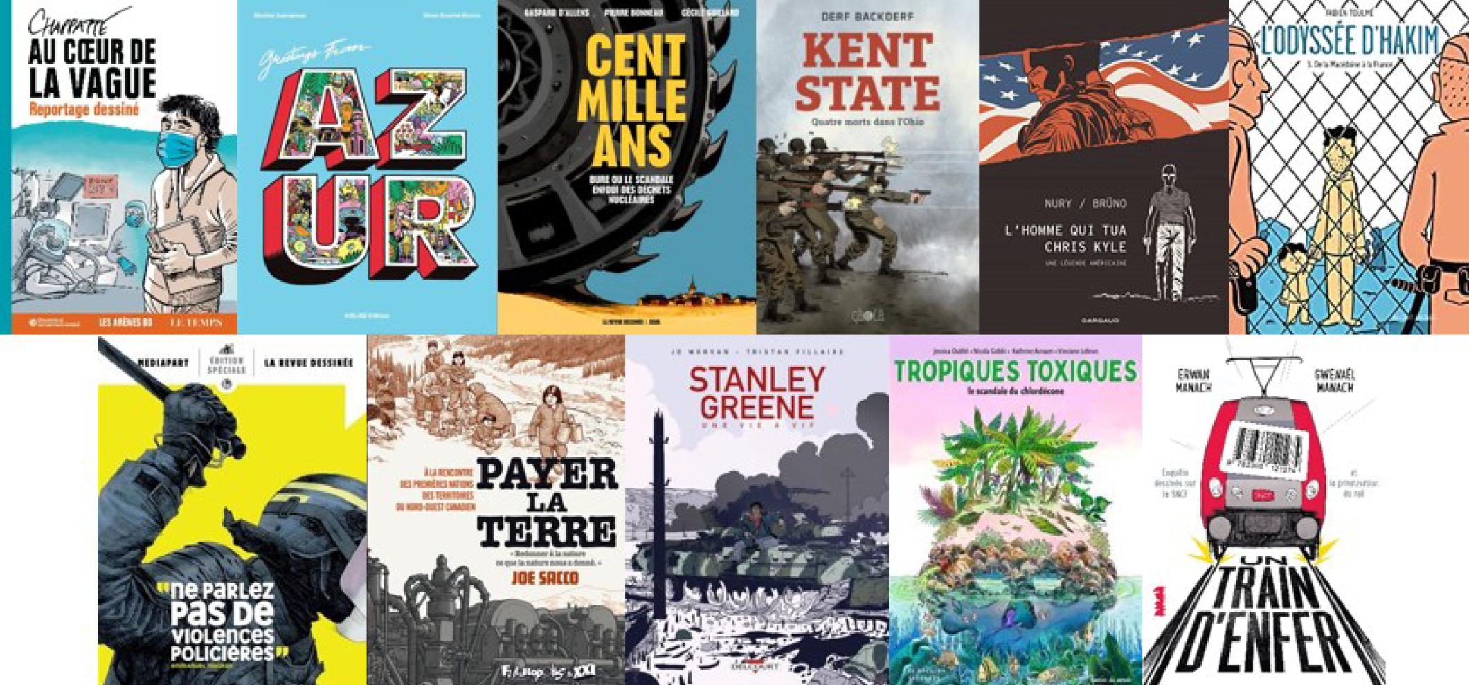 franceinfo organise son 27e Prix de la bande dessinée