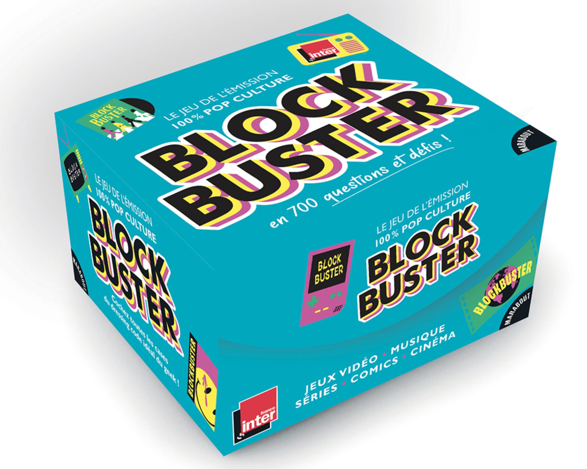 """L'émission """"Blockbuster"""" dans une boîte de jeu"""