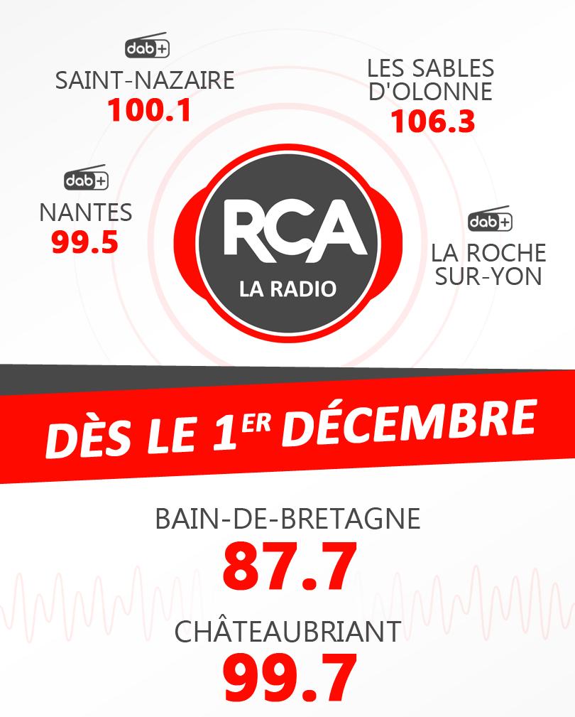 Deux nouvelles fréquences pour RCA