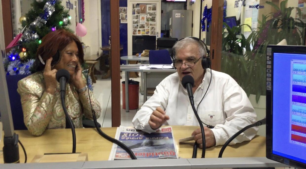 Margie et Camille Sudre les fondateurs de Radio Free Dom. la radio a vu le jour le... 14 juillet 1981.