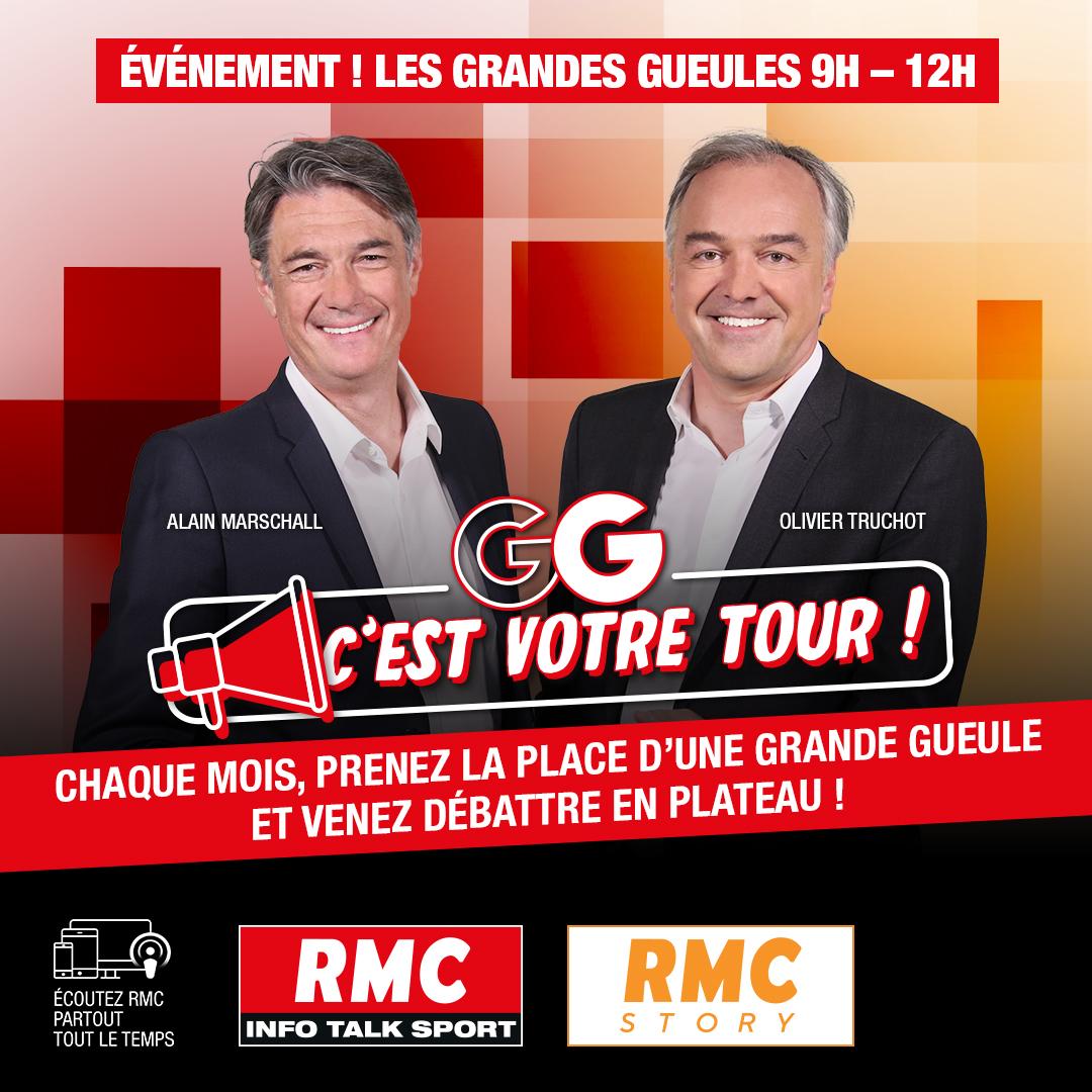 """RMC : les auditeurs invités à devenir des """"Grandes Gueules"""""""