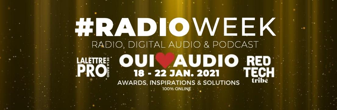 Participez aux Oui♥Audio Awards de la #RadioWeek
