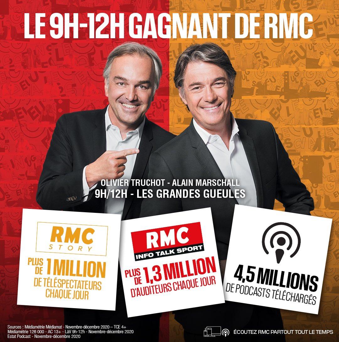 RMC souffre du manque de mobilité des Français