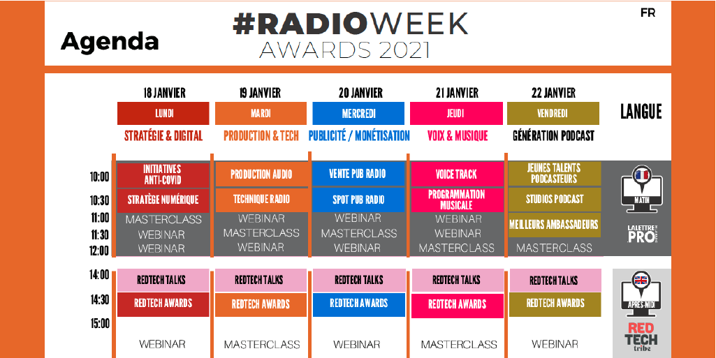 #RadioWeek : ça commence ce lundi matin !