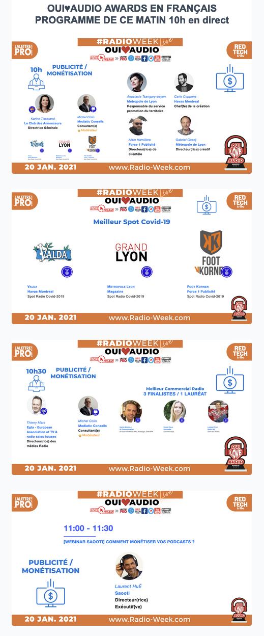 #RadioWeek : suivez l'événement en direct