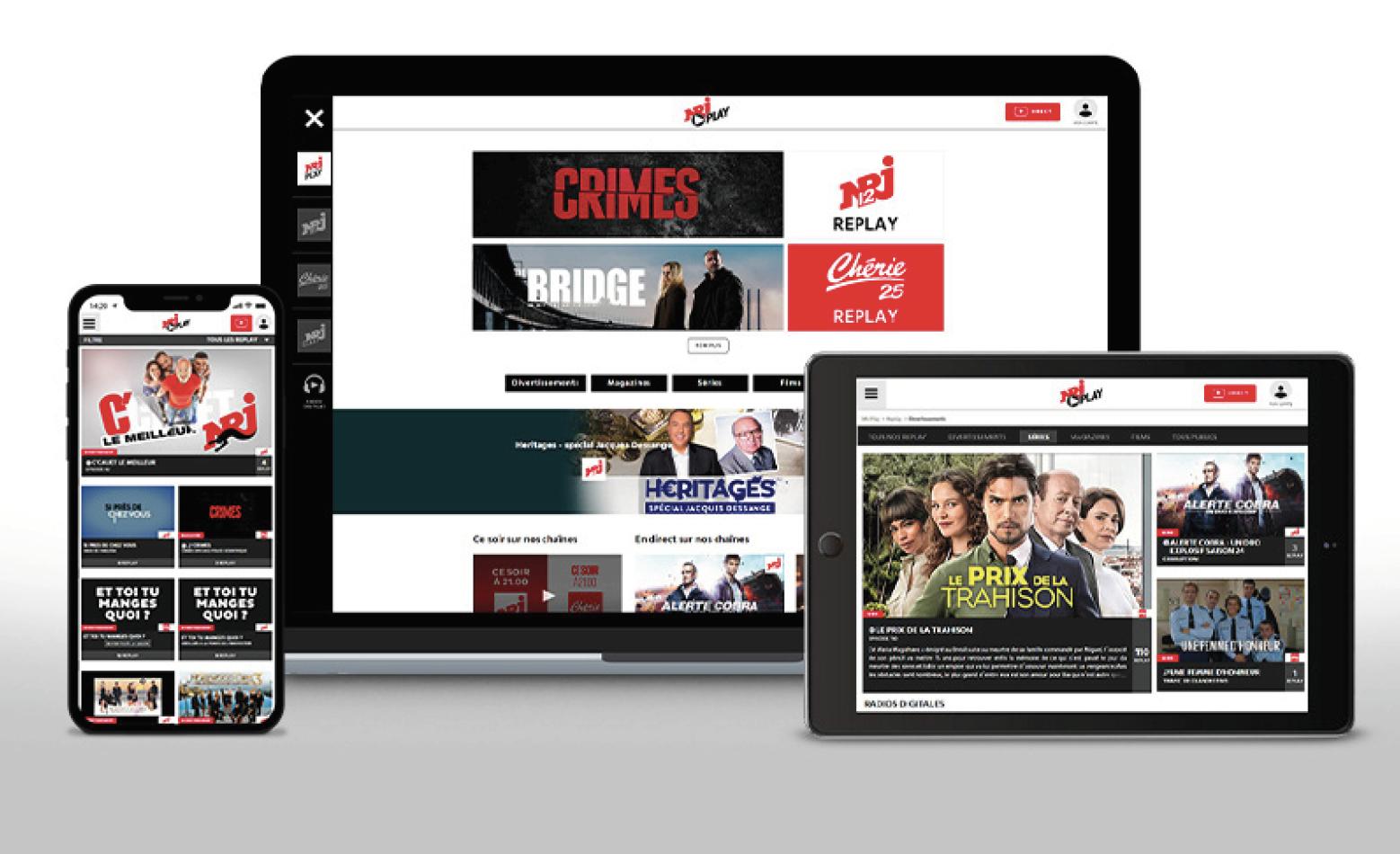 NRJ Play : une nouvelle interface au service de l'utilisateur