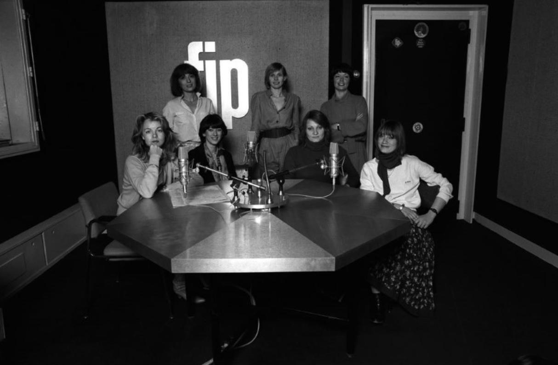 Depuis 1971, FIP est la plus féminine des radios françaises. © Roger Picard/Radio France.