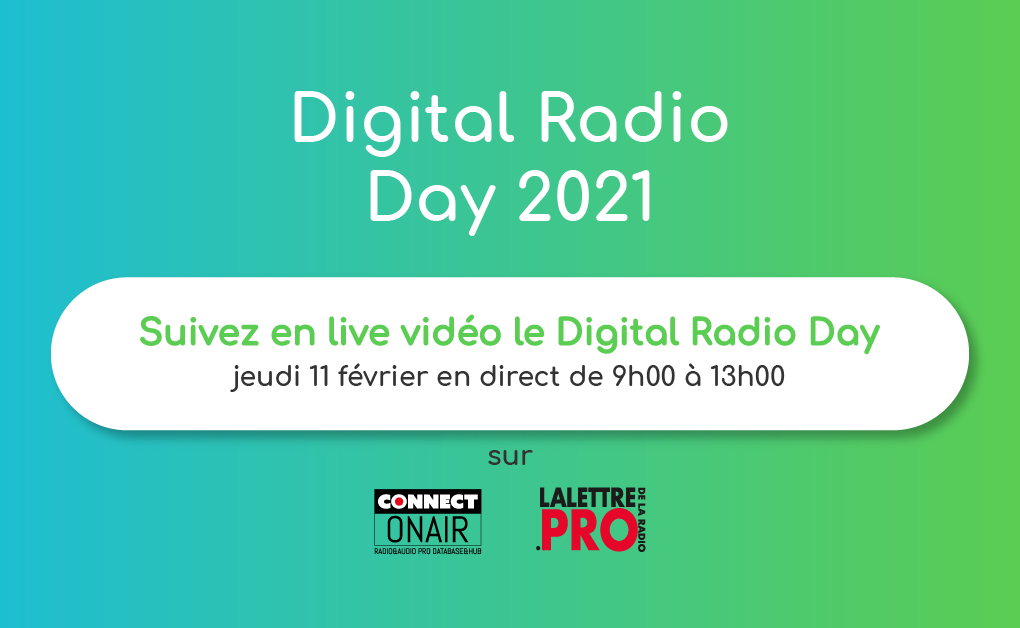 Le Digital Radio Day à suivre en direct sur ConnectOnAir