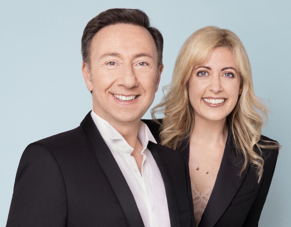 Marina Chiche et Stéphane Bern et Marina Chiche présenteront les Victoires de la Musique Classique 202, en direct de l'Auditorium de Lyon