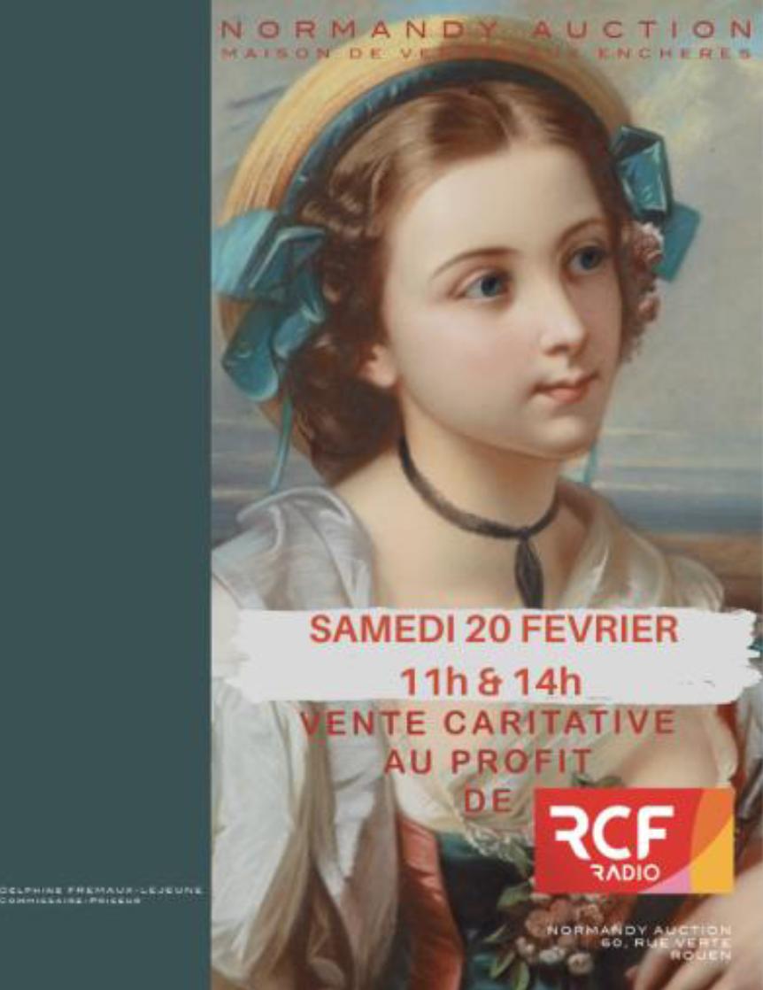 Une vente aux enchères au profit de RCF Haute-Normandie
