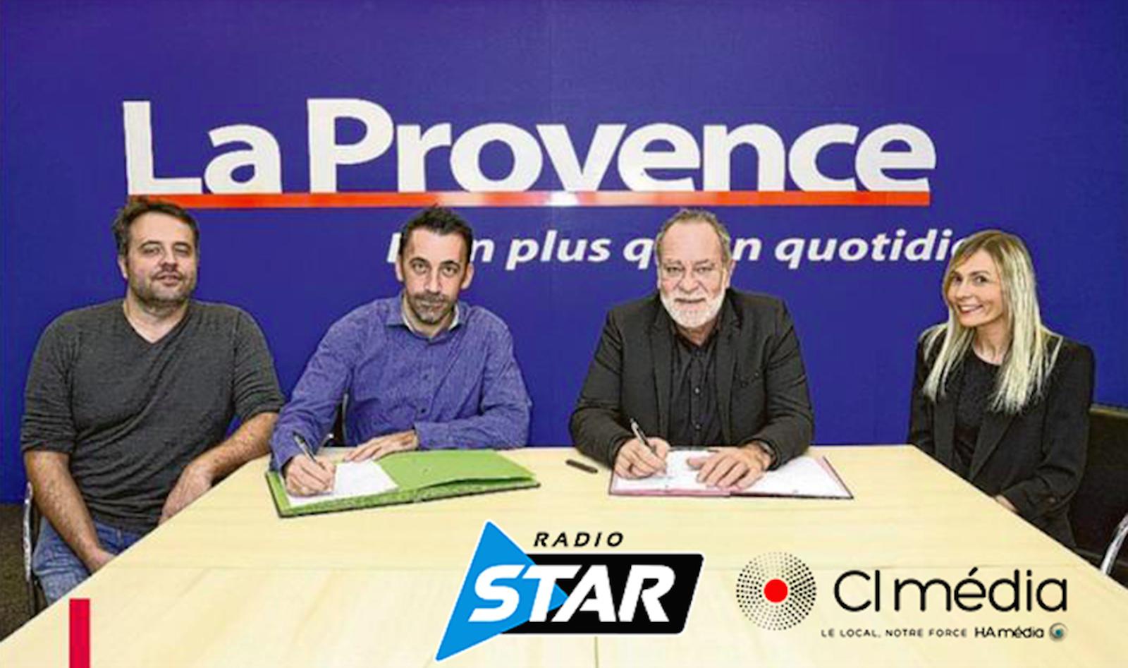 Radio Star signe un partenariat avec La Provence