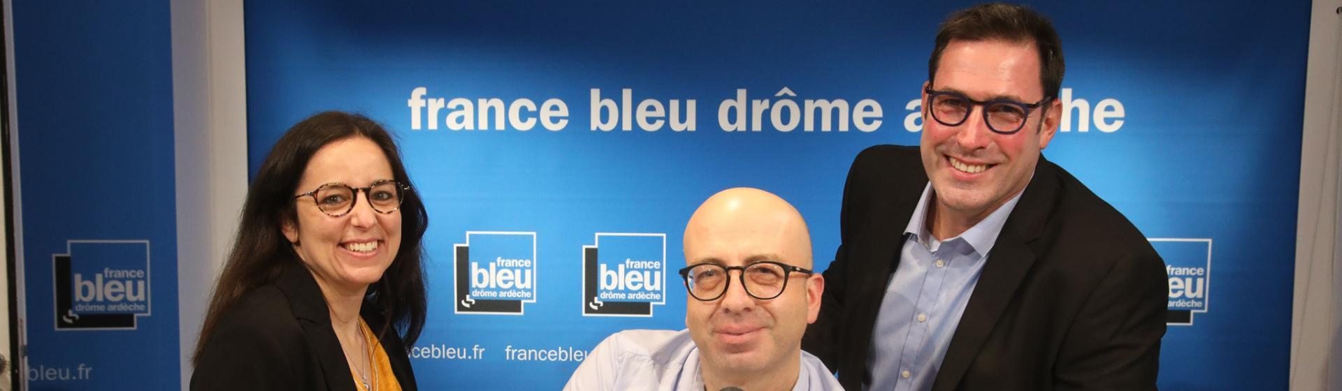 La matinale de France Bleu Drôme-Ardèche sur France 3 sera présentée par Florence Gotschaux Philippe Costa et Emmanuel Champale