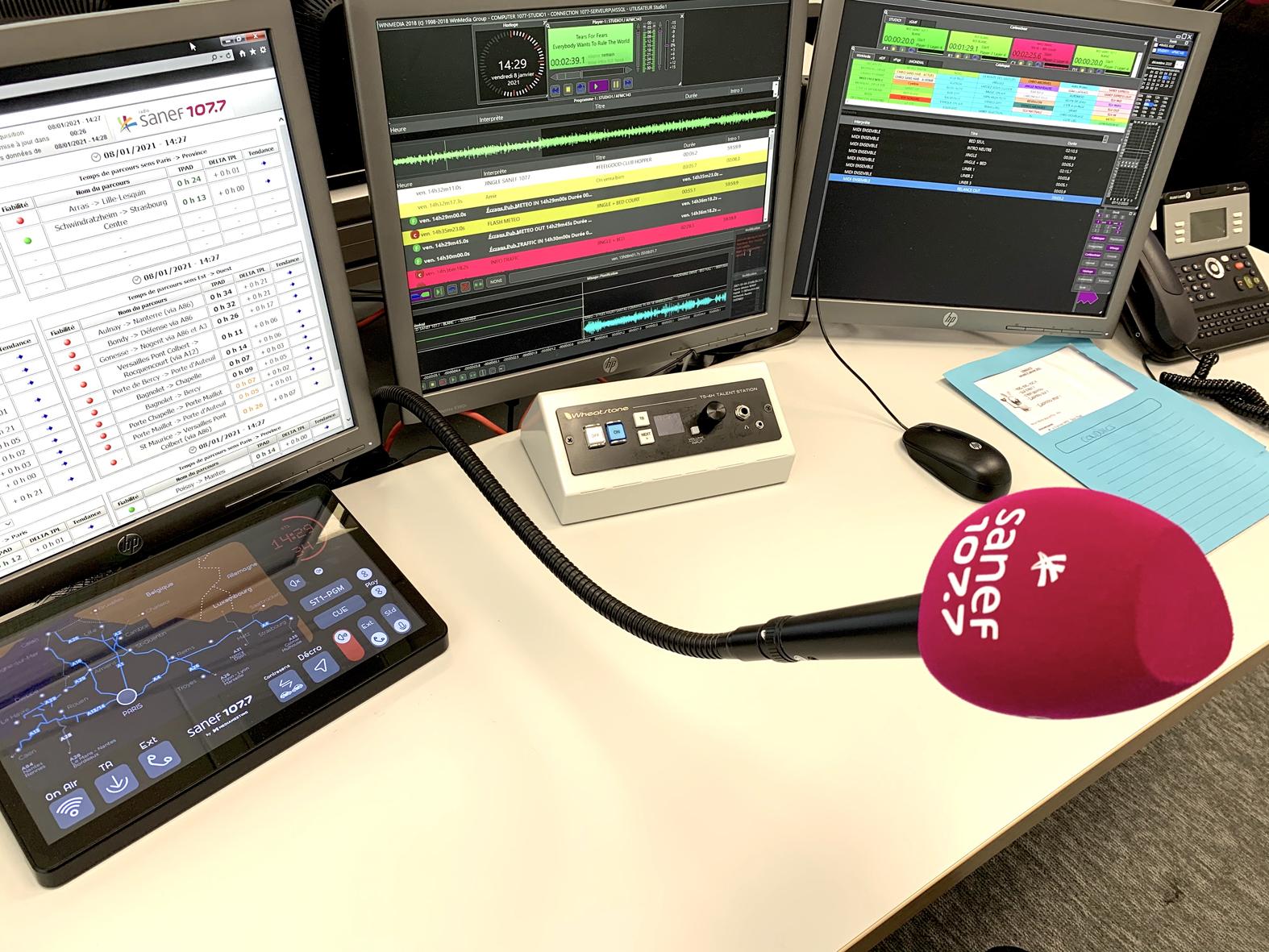 Le MAG 129 - Sanef 107.7 : nouvelles installations avec les outils de SAVE Diffusion et SOUND4
