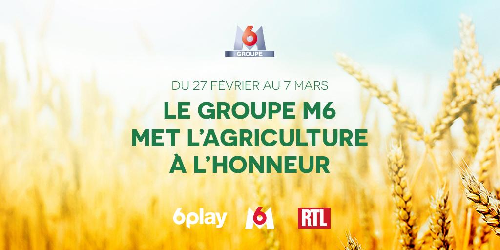 L'agriculture au cœur des antennes de M6 Groupe