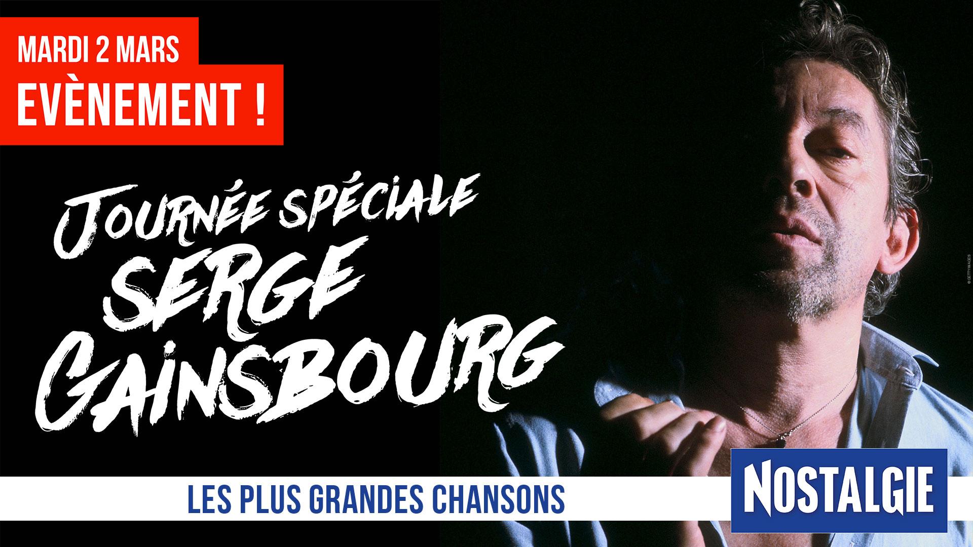 """""""Tous fans de Gainsbarre"""" sur Nostalgie"""