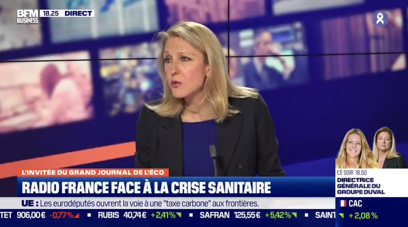 """Radio France : un déficit de """"5 à 10 M€"""" selon Sibyle Veil"""